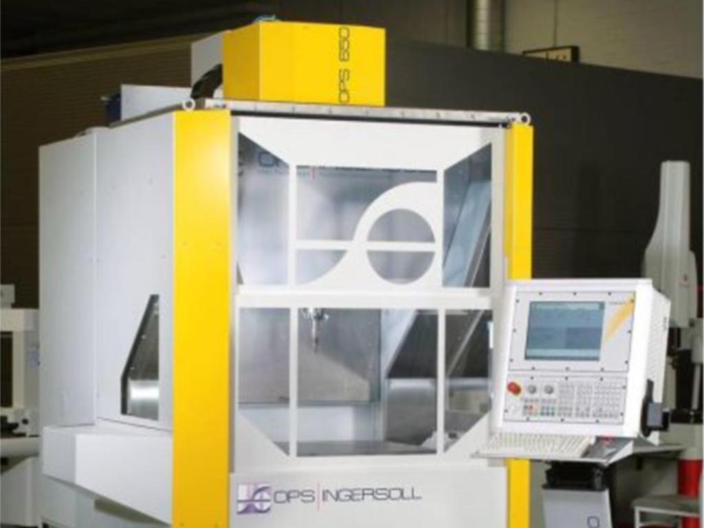 5-Achs HSC Fräsmaschine Ingersoll OPS 650
